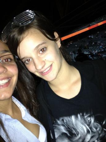 Nous au concert Lady Gaga ;) <3