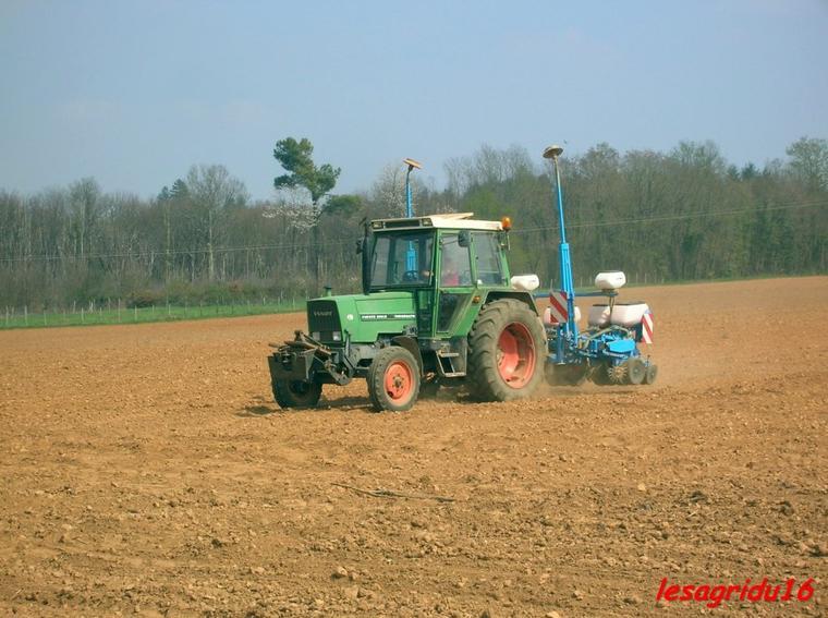 semis du maïs 2012