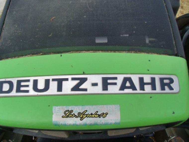 DEUTZ-FAHR Agrotron TTV 1160 ET Vicon ls 12000 Vario et JCB 536.70