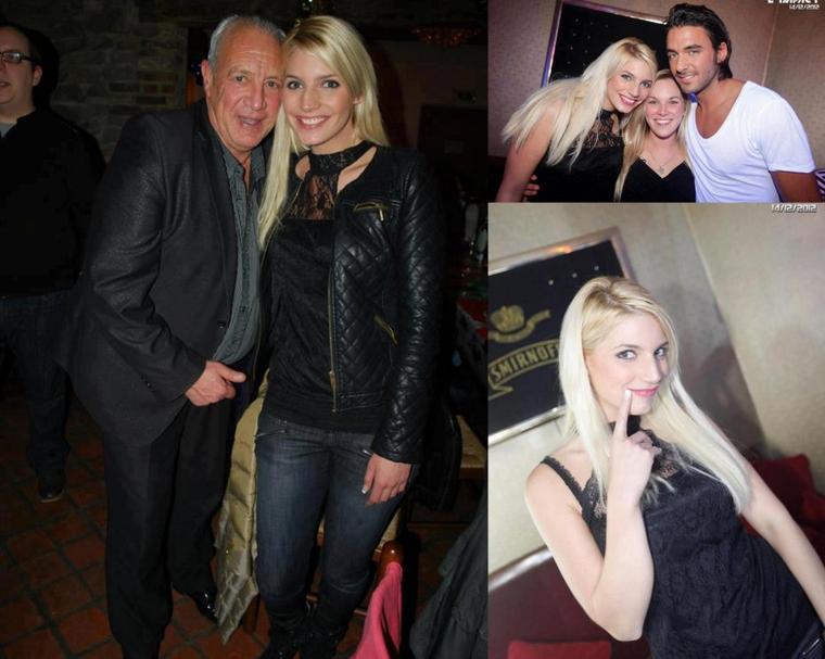 14 Décembre 2012; Nadège avec Thomas à l'Impact Mons !