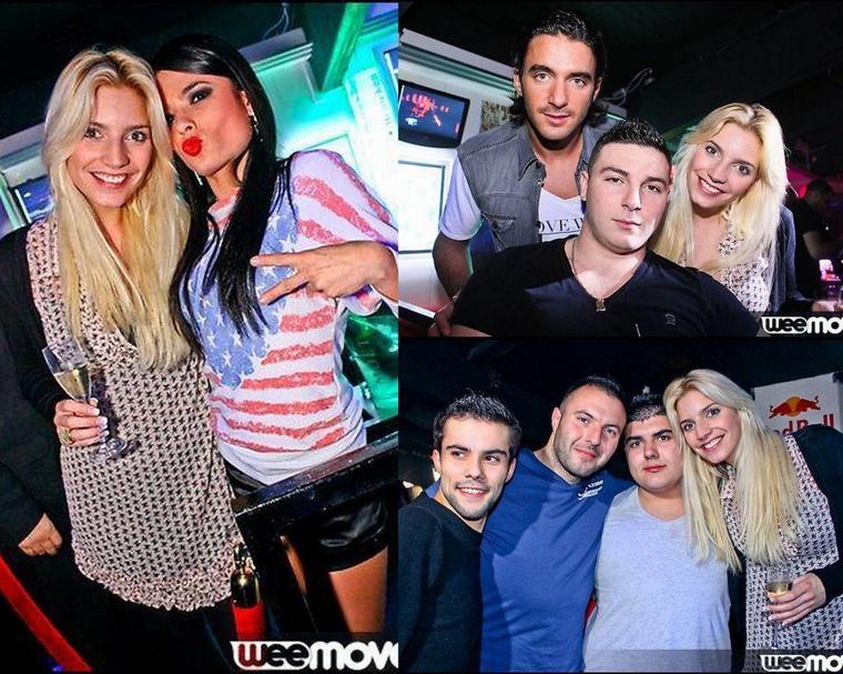 21 Décembre: Nadège avec Thomas à la discothèque la Fabrik !