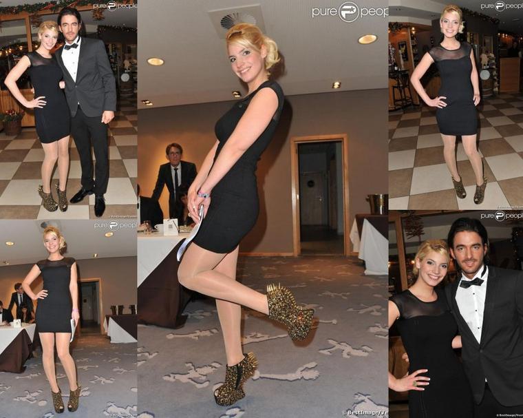 15 Décembre 2012: Nadège et Thomas dans le jury du Top Model Belgium !