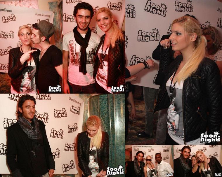22 Décembre 2012: Nadège avec Thomas à la discothèque le Q à Bourges !