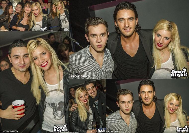 Nadège avec Mystik Night Club avec Thomas & Sacha !
