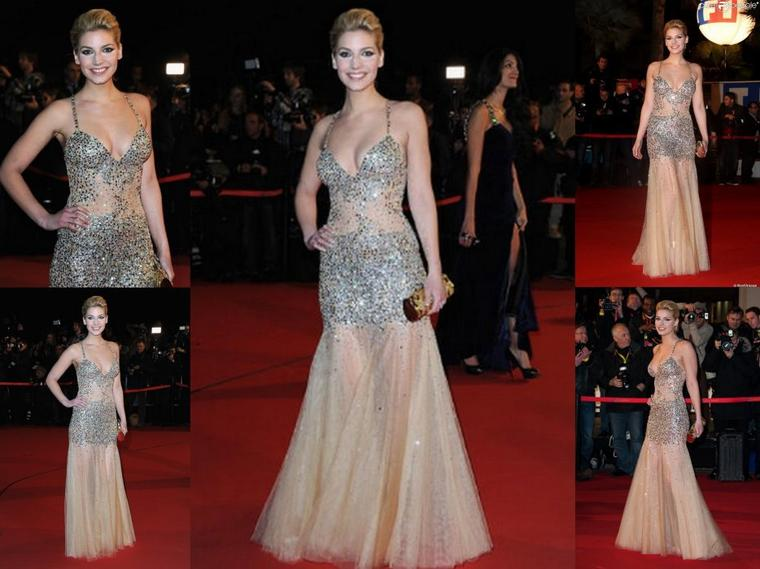 26 Janvier 2013: Nadège au NRJ Music Awards à Cannes où elle à d'ailleurs remis un prix !