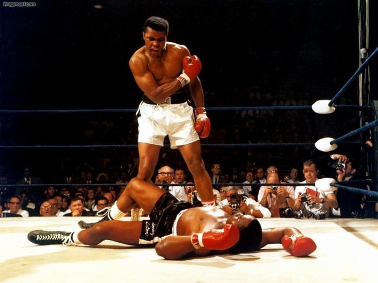 Muhammad Ali le meilleur boxeur