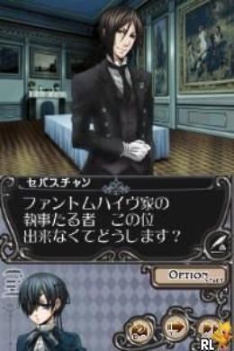 Le jeu ds : Kuroshitsuji - phantom & ghost