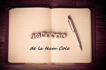 Le journal de la #TeamCOLE
