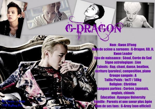 - G-Dragon -