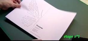 # tuto : obtenir un motif de papillon derrière un tee-shirt