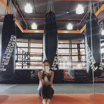Trying new sports : boxing / พยายามกีฬาใหม่ : มวย