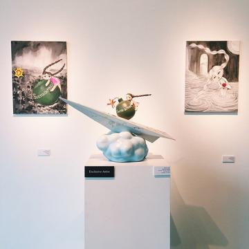 Optical illusions and art galleries / เครื่องฉายภาพและหอศิลป์