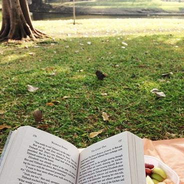 My reading of the moment : The Lucky One / การอ่านของฉันของช่วงเวลา