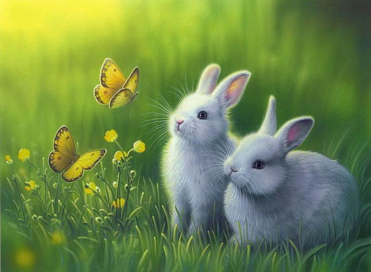 Bonne fête de Pâques à tous mes amis et à vos paniers mes petits neveux et nièces adorés