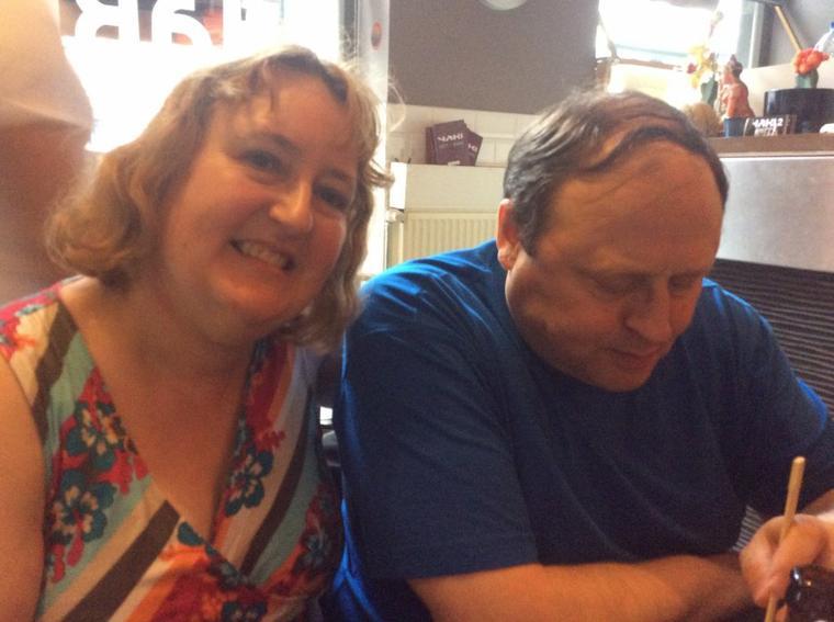 Pour l'anniversaire des 4 ans de rencontre de Domenico et de ma fille au restaurant Yaki