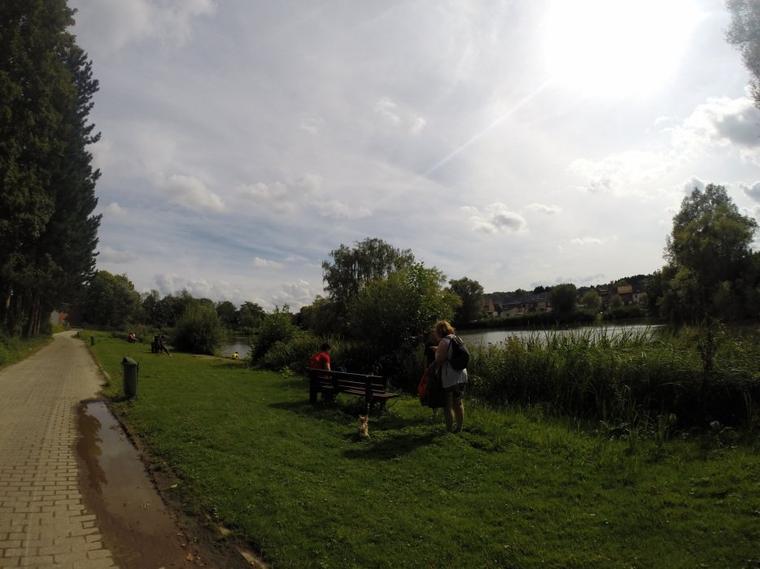 Après-midi à Huizingen le samedi 09 août 2014