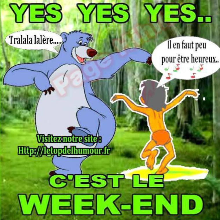 Bon Week-End à tous