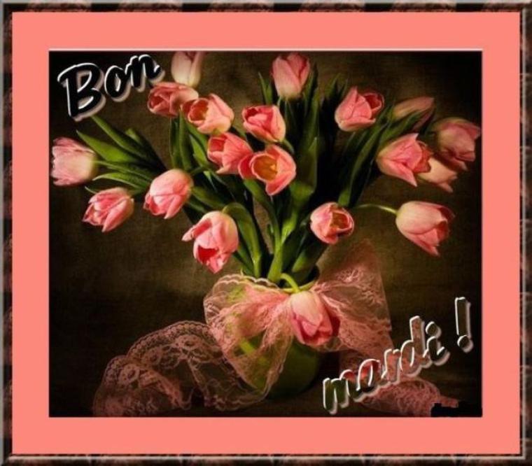 Je vous souhaite une excellente journée en ce mardi
