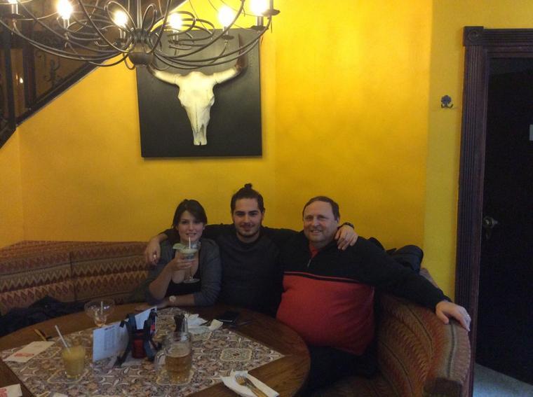 Restaurant au Chi-Chi's Anspach avec Domenico et ma fille le samedi 19/11/2016 1