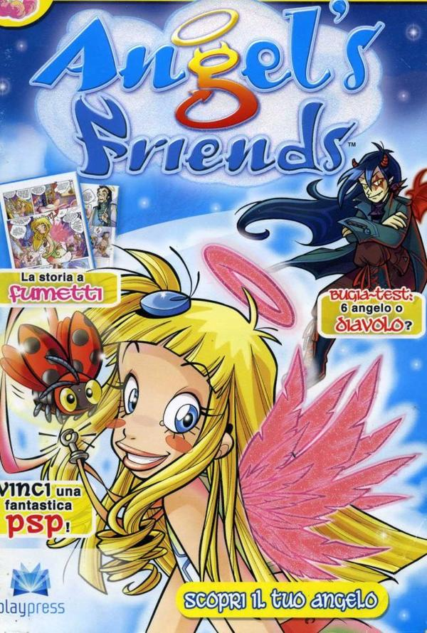 Tome 1 Angel's friends couverture