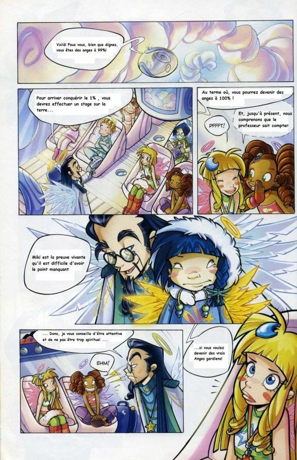 Tome 1 Angel's friends traduction page de 1 à 8 sur 24