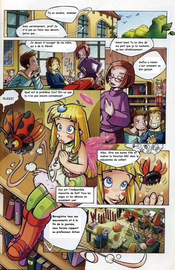 Tome 1 Angel's friends traduction page de 9 à 16 sur 24
