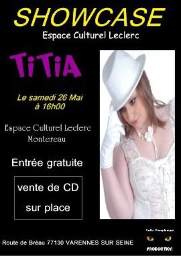 Showcase à l'espace culturel Leclerc de Varennes sur Seine