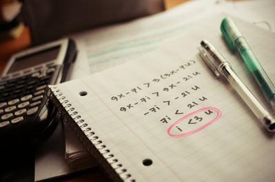 L'amour c'est comme les maths : si on ne fait pas attention : 1+1=3.