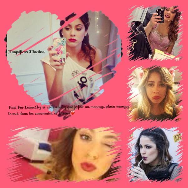 Mes Montages Martina Stoessel ( Violetta Castillo)