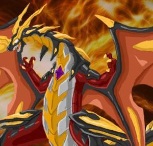 Drago en humain et en dragon