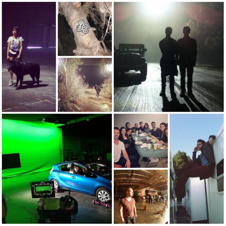 Photos tournage, Saison 3.