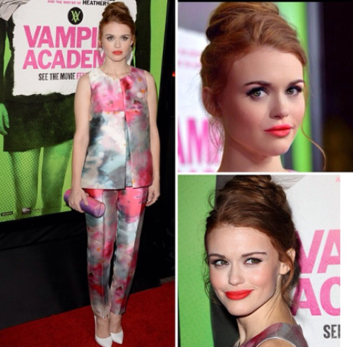 Holland Roden <3 et Happy Birthday Crystal ! # Marie