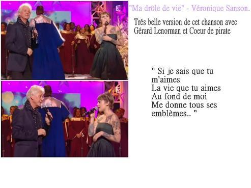"""Ce soir émission avec Coeur de pirate sur france 3 : """"Joyeux gospel et bonne année""""."""