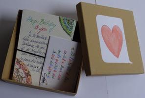 Une boîte, 14 cartes !