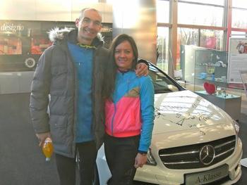 24. internationalen Volkslauf rund um das Mercedes-Benz