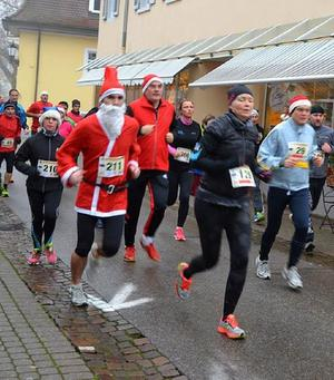 29. Nikolauslauf Badenweiler: Saint Nicolas, patron des coureurs à pied