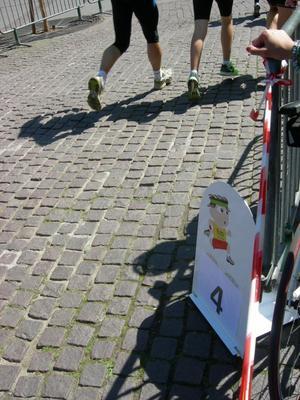 Poème Courses de Strasbourg: J'TRACE