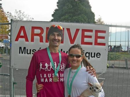 Marathon de Lausanne 2015: PRESQUE QUE DU BONHEUR