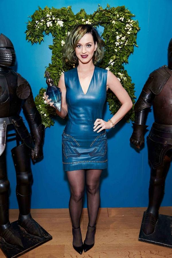 Katy Perry - 'ROYAL REVOLUTION' BLUE PARFUM PRESS CONFERENCE IN LONDON
