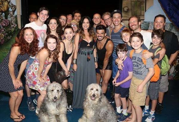 Katy Perry - 'FINDING NEVERLAND' ON BROADWAY AT THE LUNT-FONTANNE THEATER IN NYC