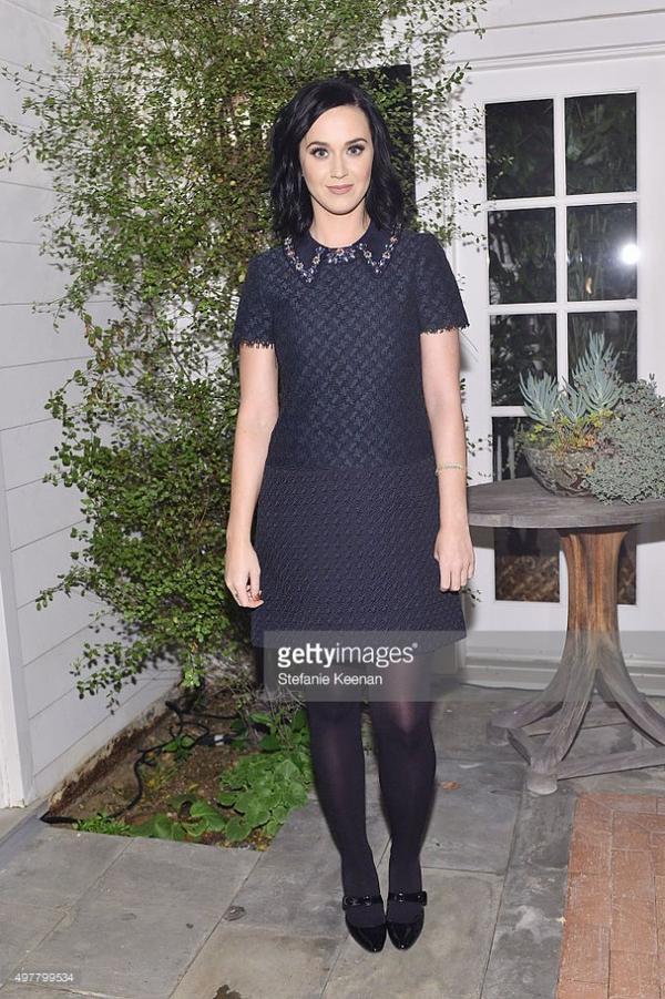 Katy Perry - The Barneys NY XO Jennifer Meyer private dinner