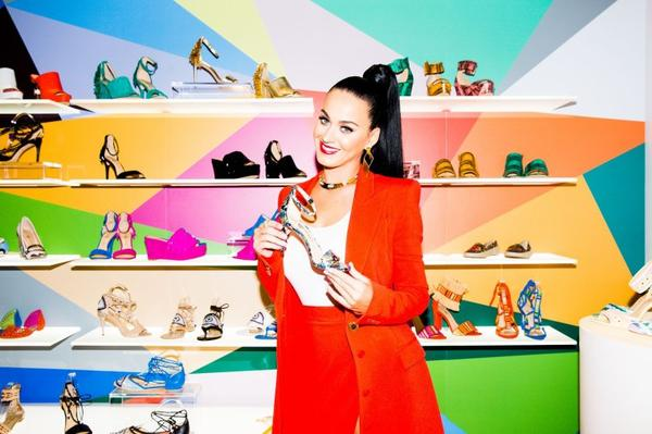 "Katy Perry - ""SHOE LAUNCH"" BY RONY ALWAIN"