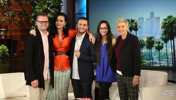 Katy Perry - AT THE ELLEN DEGENERES SHOW