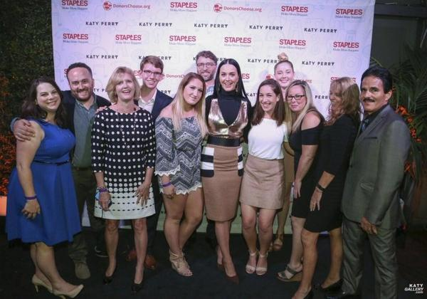 Katy Perry - Staples Help Teachers Bring Learning to Life for Thousands of Students Nationwide