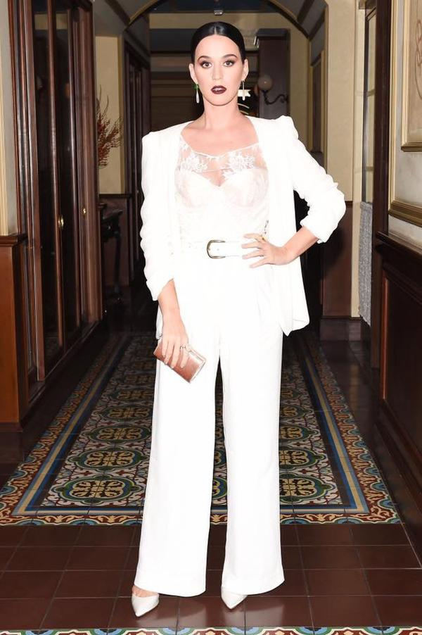 Katy Perry - the CFDA/Vogue dinner party in Beverly Hills last night