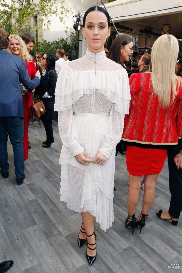 Katy Perry - VOGUE/CFDA FASHION FUND TEA
