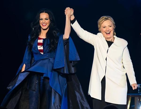 Katy Perry - the Hillary Clinton rally in Philadelphia tonight