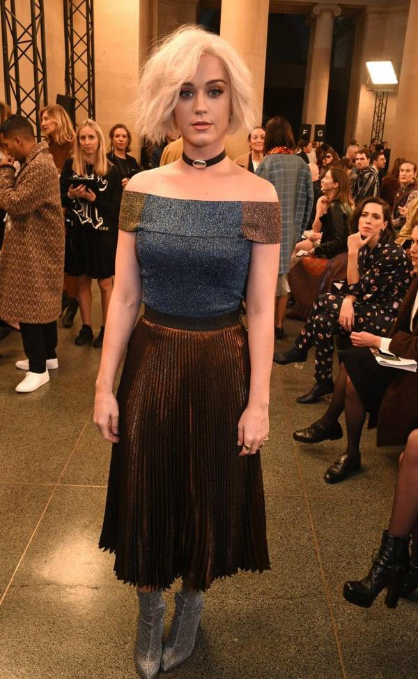 Katy Perry - CHRISTOPHER KANE SHOW DURING THE LONDON FASHION WEEK FEBRUARY 2017