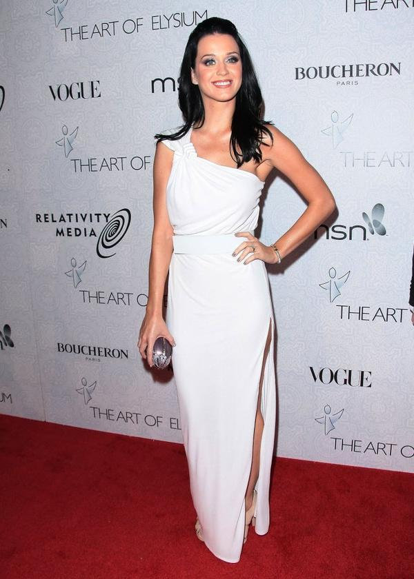 "Katy Perry - 3RD ANNUAL ART OF ELYSIUM'S ""HEAVEN"" GALA EVENT"