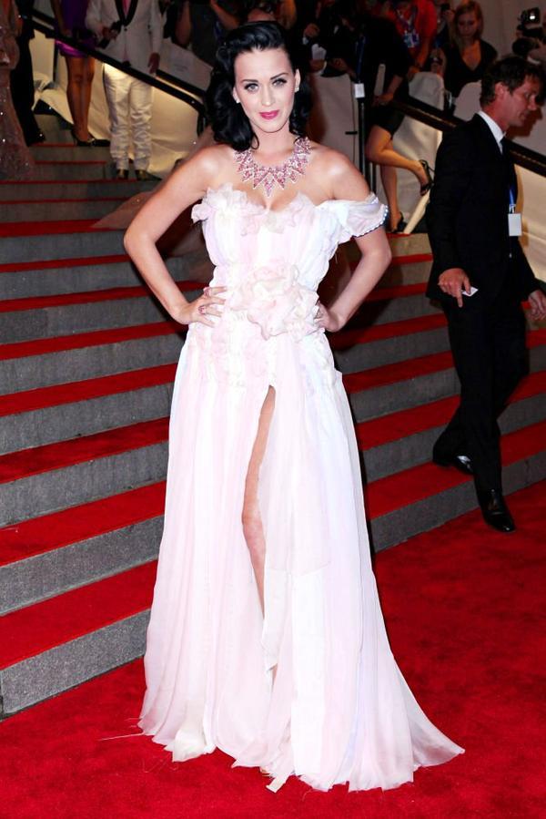 Katy Perry - METROPOLITAN MUSEUM OF ART COSTUME INSTITUTE GALA IN NYC